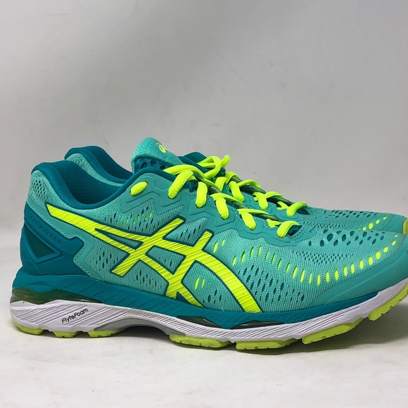 newest collection 215a0 85496 ASICS Women's GEL-Kayano 23 Green T696N-3807